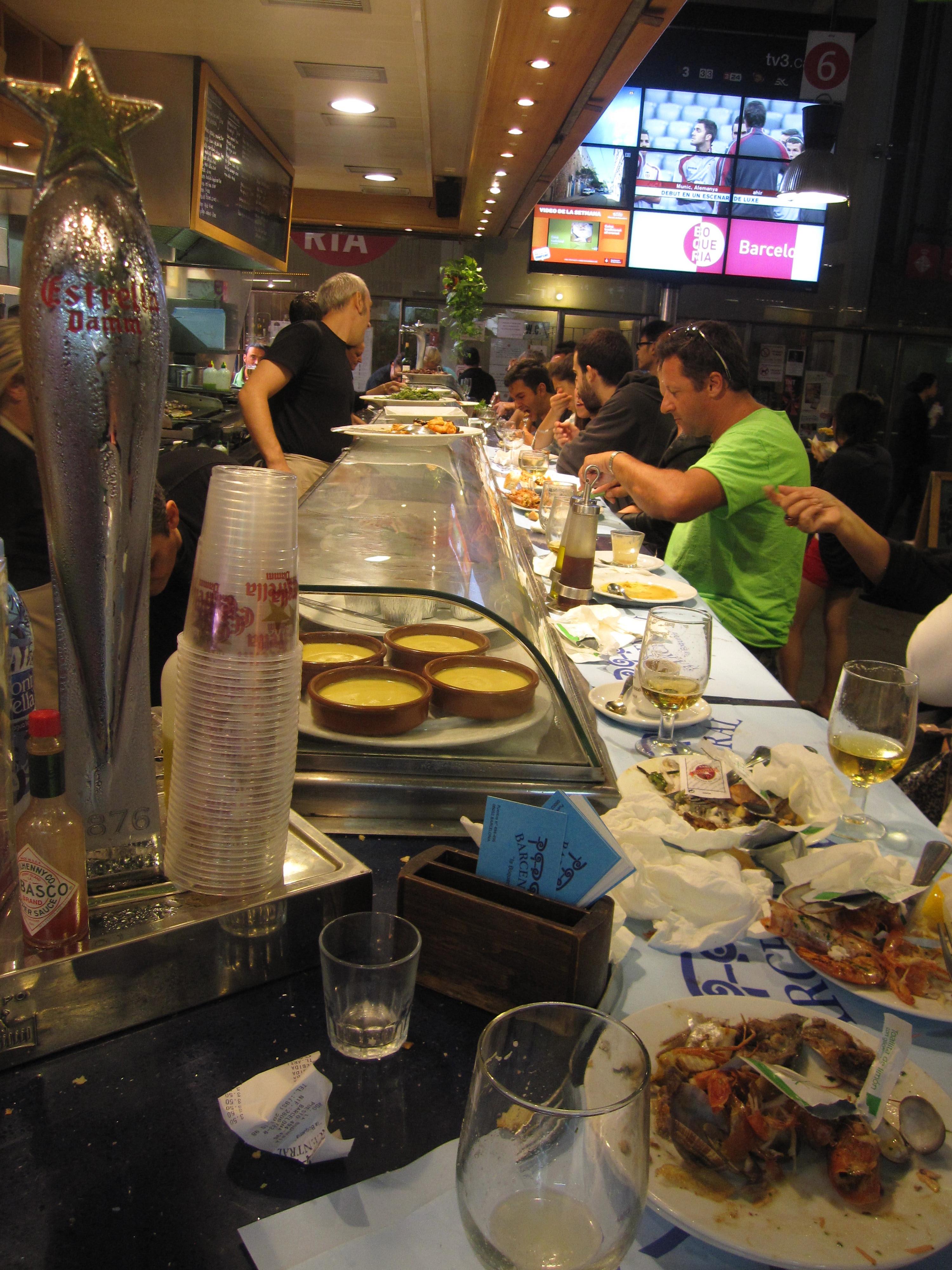 Bar Centrale at La Boqueria