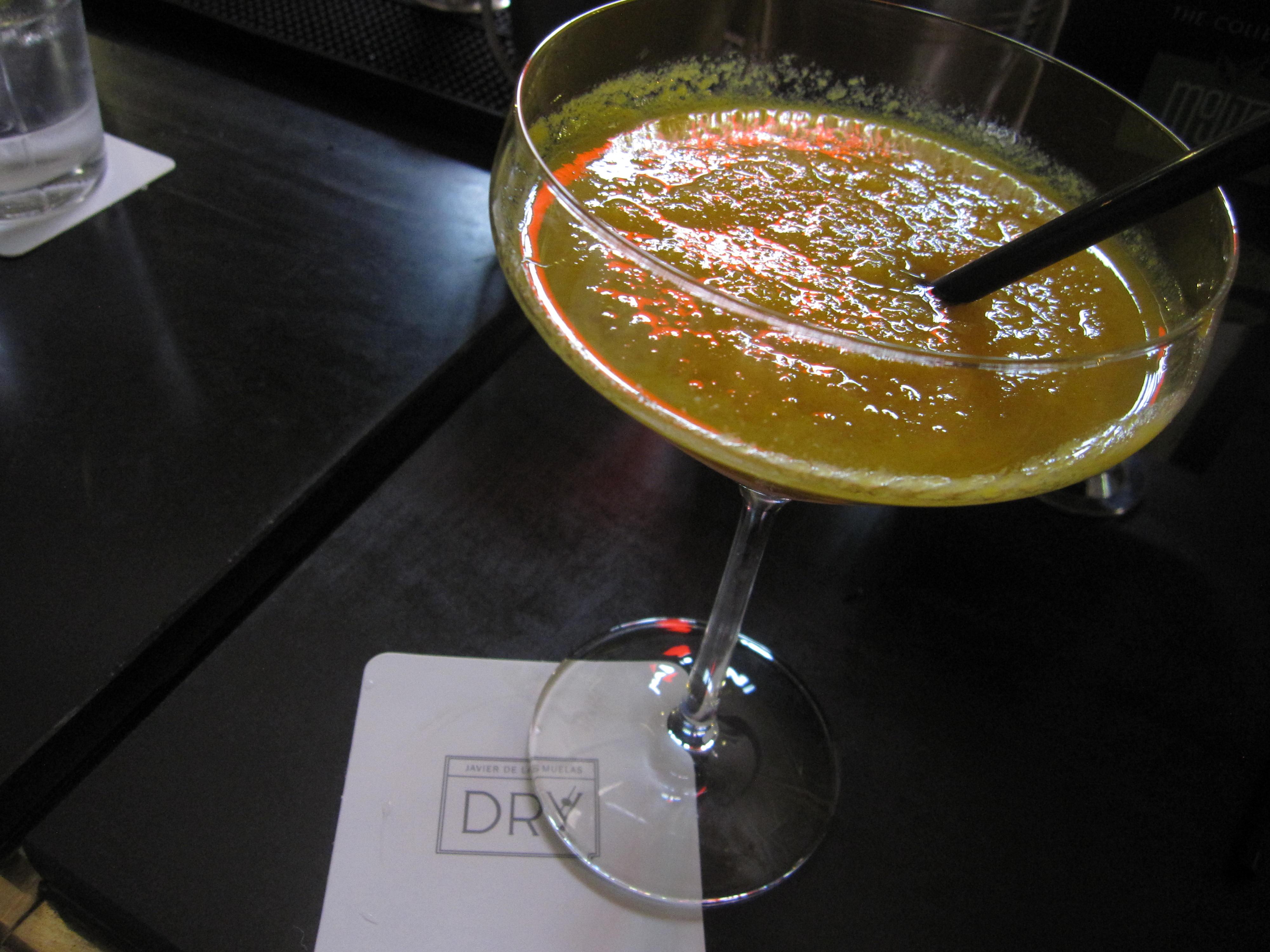 Night Cap at Dry Bar in our hotel, Gran Melia Felix