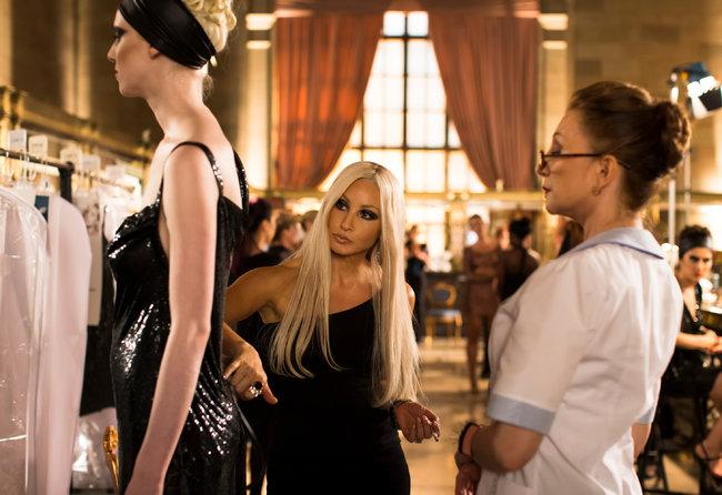 Gershon as The Versace Vixen