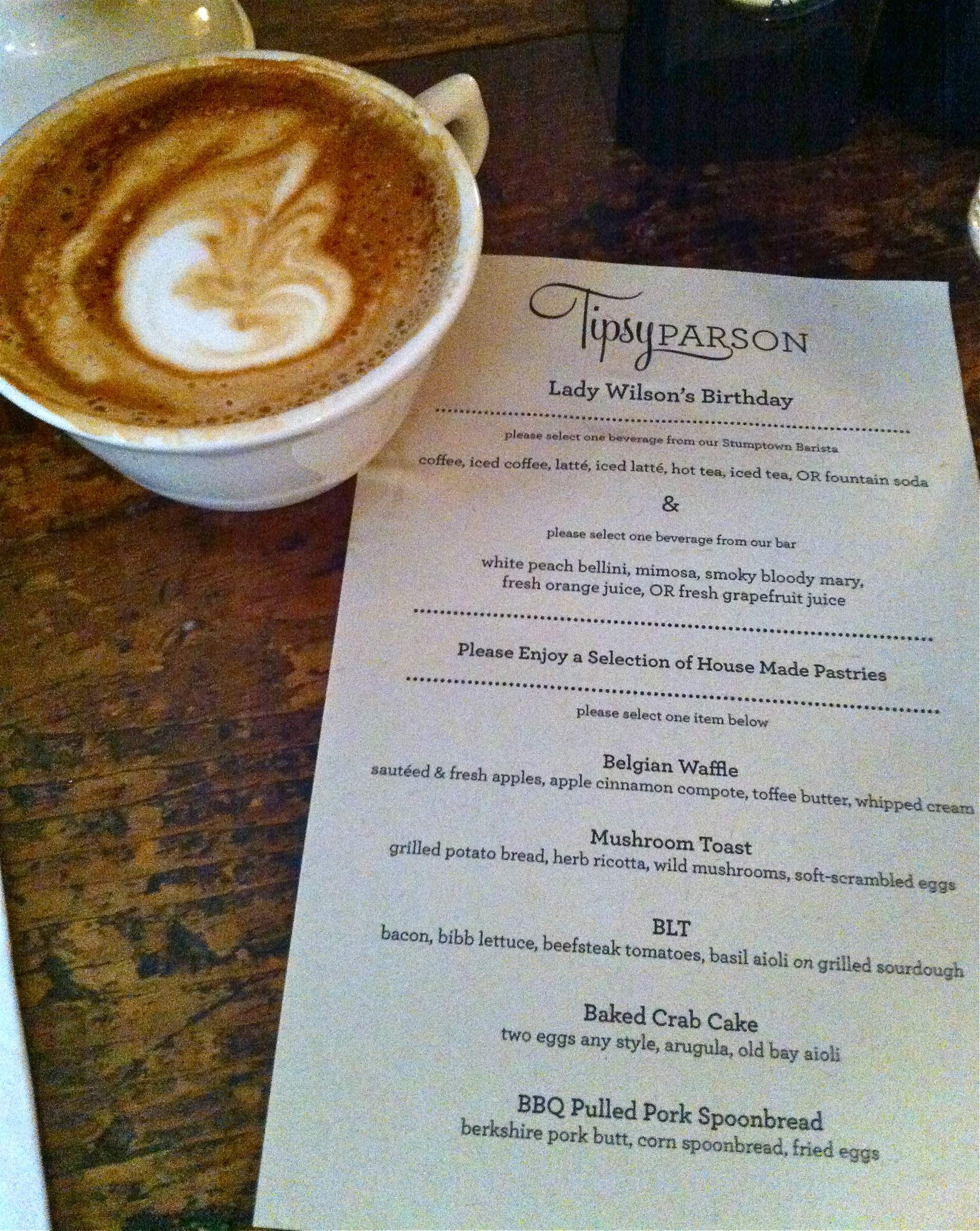 #TipsyParson #nyc #restaurants #brunch