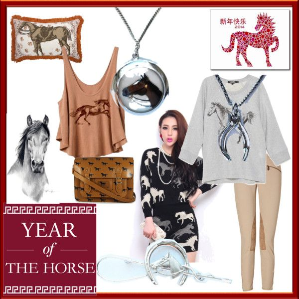 sterling silver, jewelry, year of the horse, #chinesenewyear #horses #vintagenecklaces