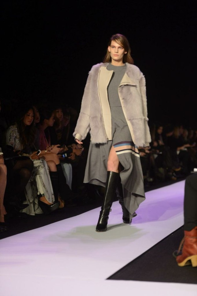 bcbg max azria fall 2014 fashion show mercedes benz fashion week