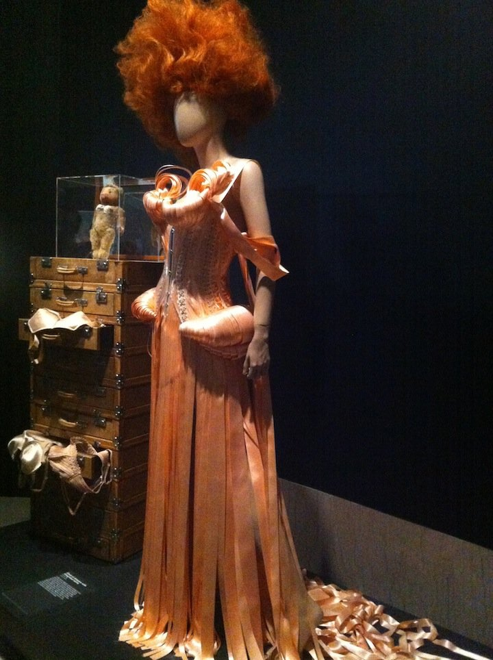 Jean Paul Gaultier inspiration at the Brooklyn Museum exhibit-