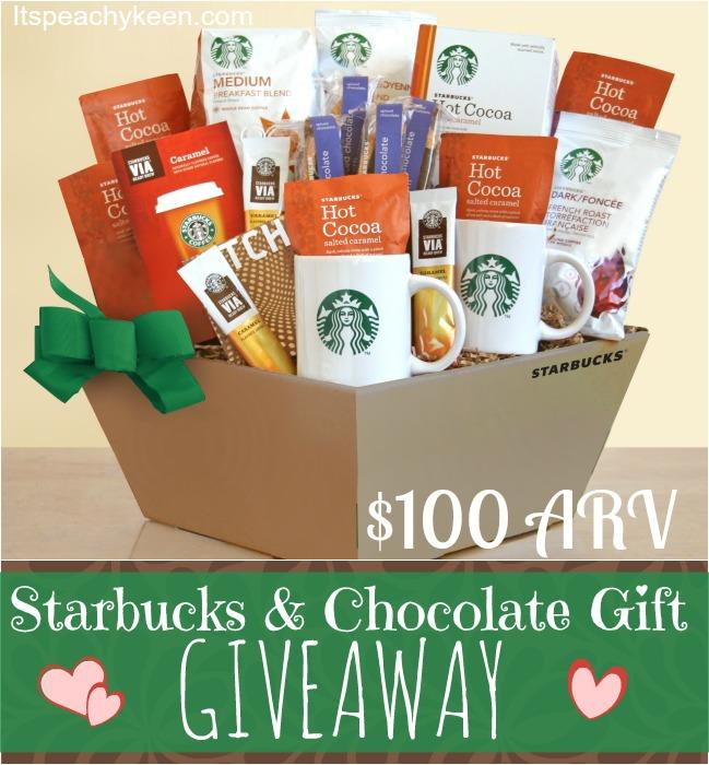 starbucks giveaway #giftbasket