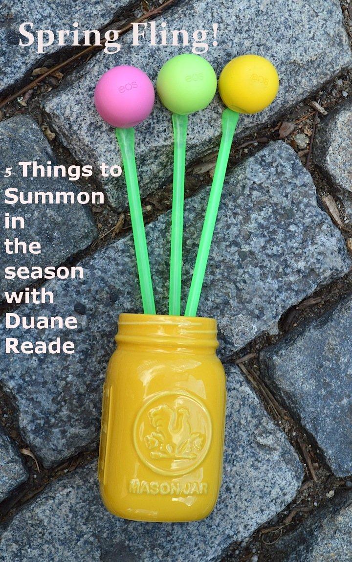 #duane reade #spring #springseason #nyc #spring2014 #flowers #DIY #eos #lipbalm