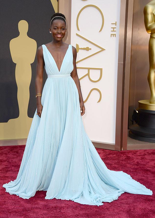 2014Oscars, Academy Awards #prada #lupitaNyong