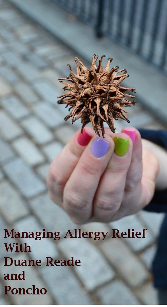 #allergy relief #duanereade #nyc #allergy season, #allergypills #poncho #weatherapp