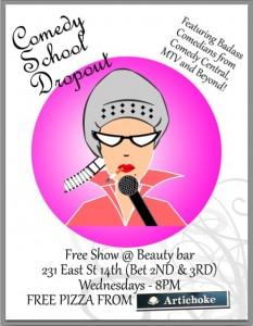 #beautybar #comedy #freecomedy #nyccomedy #comedyclubs