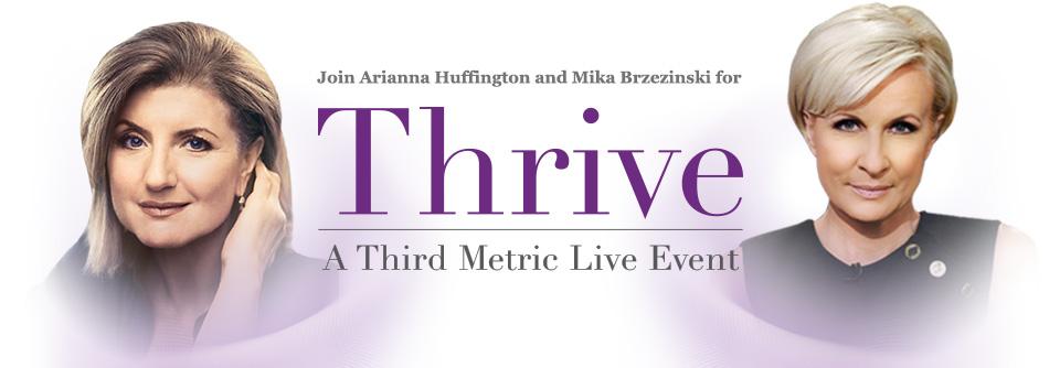 #thrive #thriveevent #ariannahuffington #hufffingtonpost
