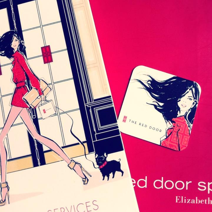 #spa #reddoor