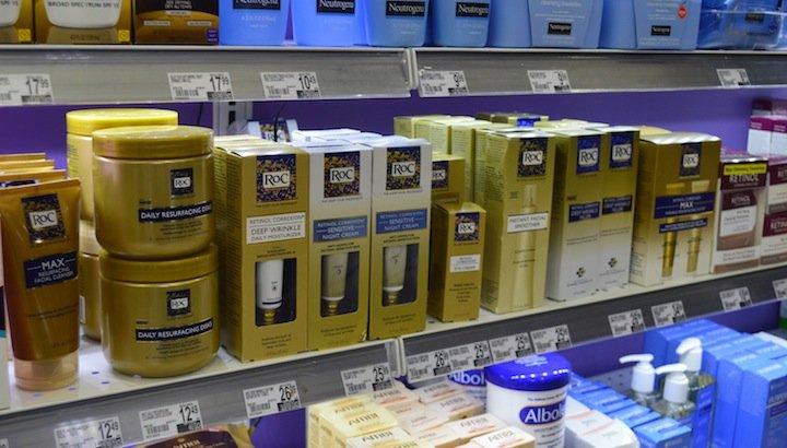 roc brand, duane reade, anti-aging products, retinol, wrinkle cream, wrinkle treatments