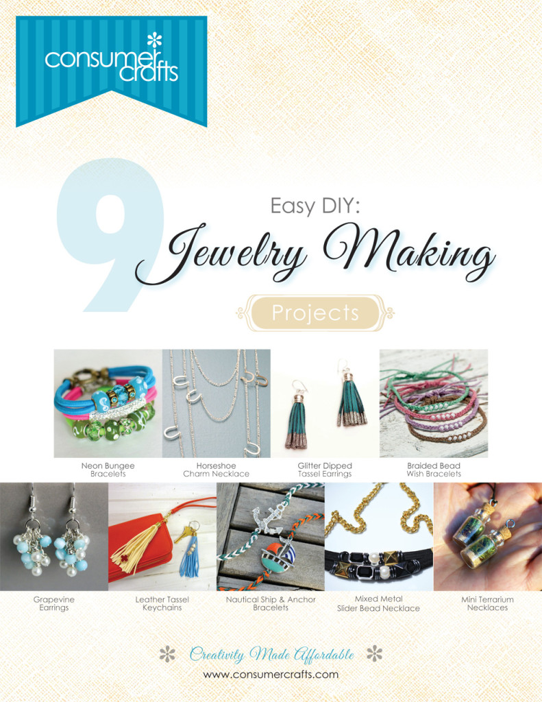 consumer crafts, jewelry, e-book, crafts, DIY