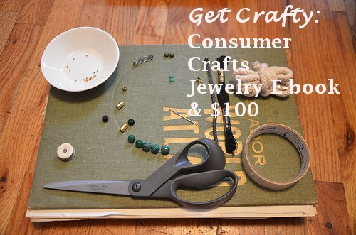 consumer crafts, DIY, DIY jewelry, jewelry e-book, e-books
