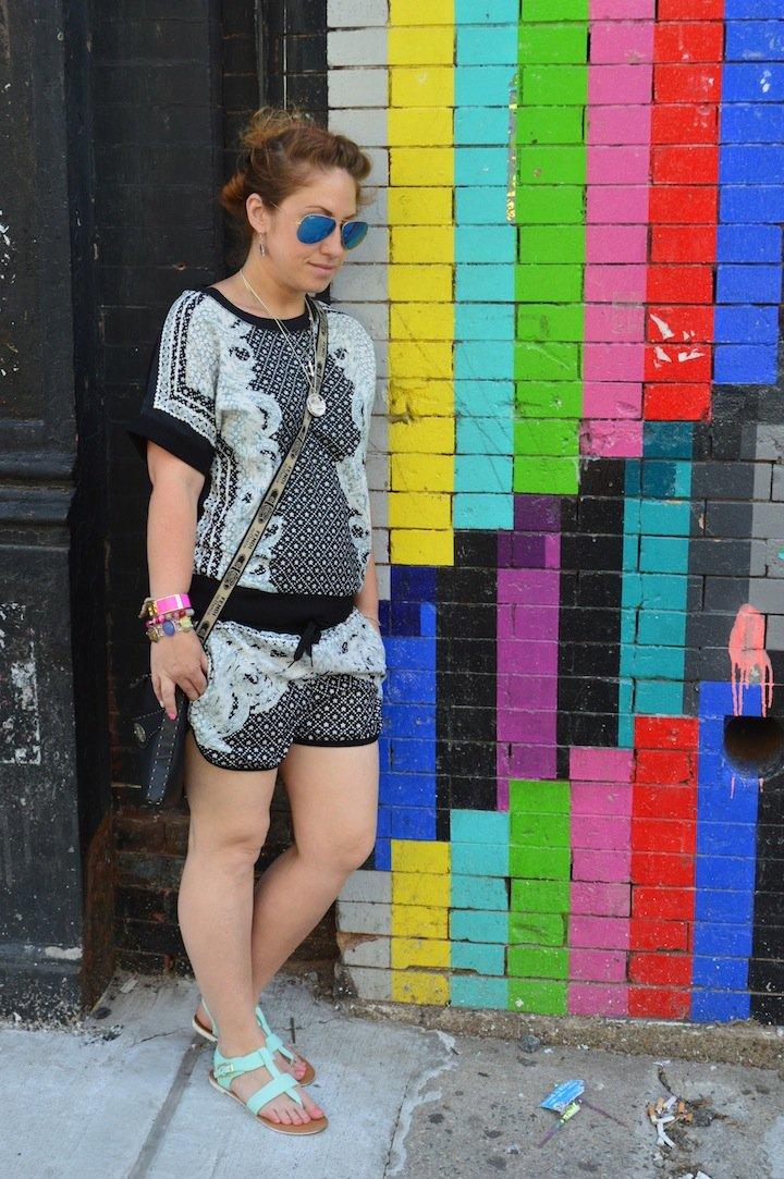 choies, matching top and shorts, shorts, summer, summer fashion, choies, blogger fblogger,