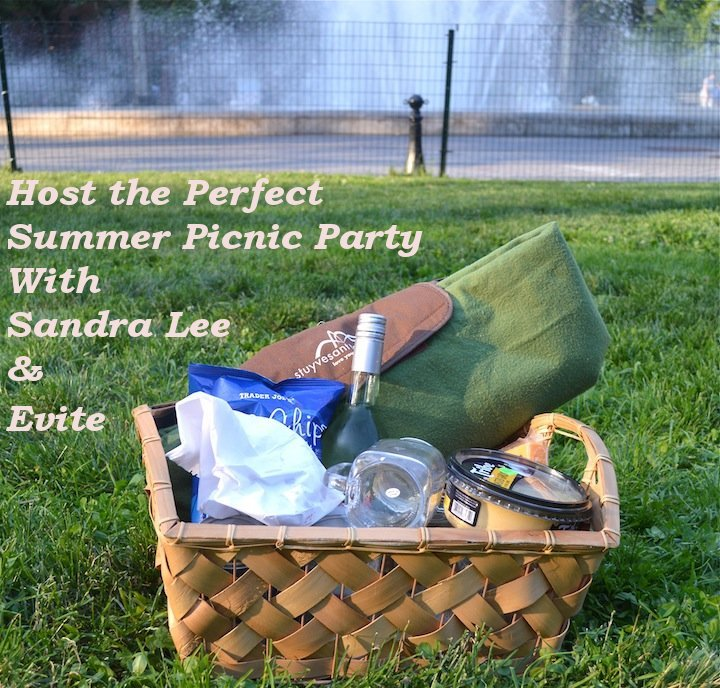 summer, picnic, summer picnic, picnic party, evite, party invites, celebration, celebrate express, evite, sandra lee, picnic ideas