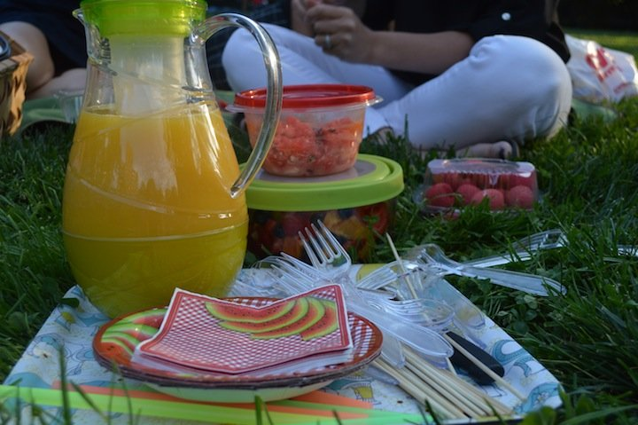 summer, picnic, summer picnic, picnic party, evite, party invites, celebration, celebrate express