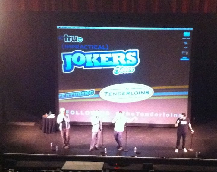 staten island ferry, the tenderloins, impractical jokers tour, comedy