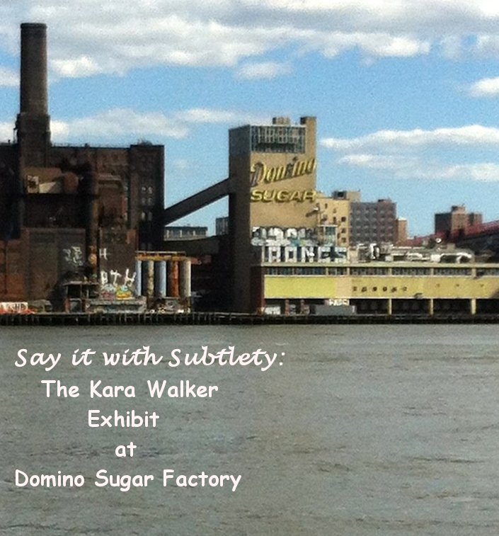 kara walker, kara walker domino, domino sugar factory, art,