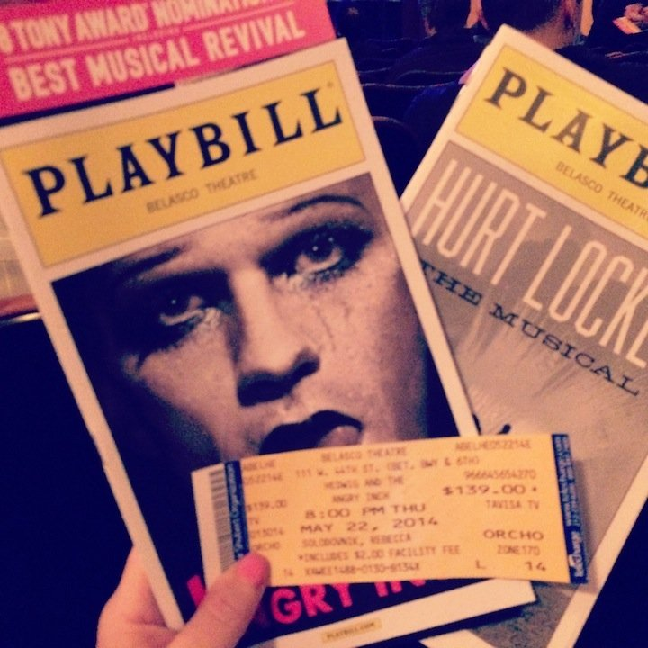 Hedwig and the angry inch, neil patrick harris, nph, nph in hedwig and the angry inch, hedwig, broadway, nyc, broadway shows