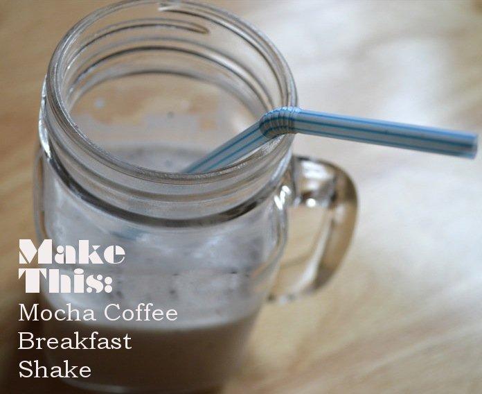mocha shake, coffee, breakfast shake, protein shake, protein shake recipes, food, healthy recipes, health, breakfast shakes, breakfast recipes
