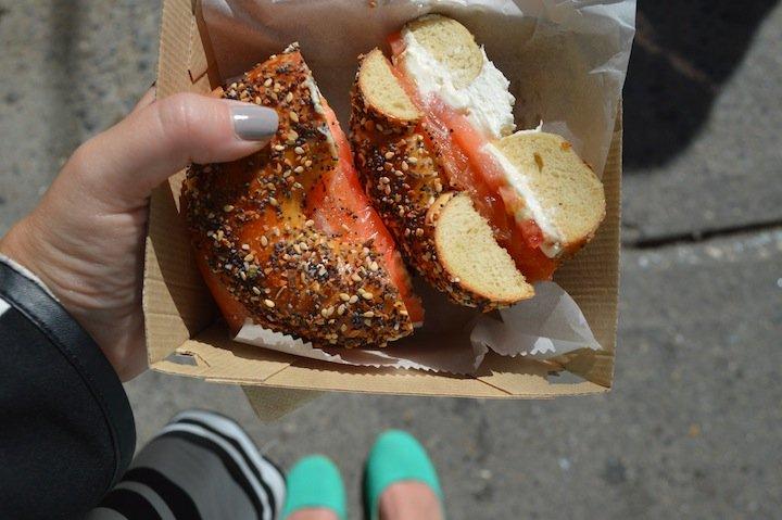 parm, nyc food, nyc restaurants, pop up shop, bagels, bagel pop up, san gennaro festival,