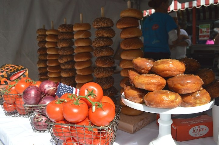 parm, nyc food, nyc restaurants, pop up shop, bagels, bagel pop up, san gennaro festival,