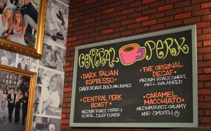 friends 20th anniversary, central perk pop up. central perk nyc, nyc, pop up, friends 20th anniversary, coffee shop, central perk coffee shop