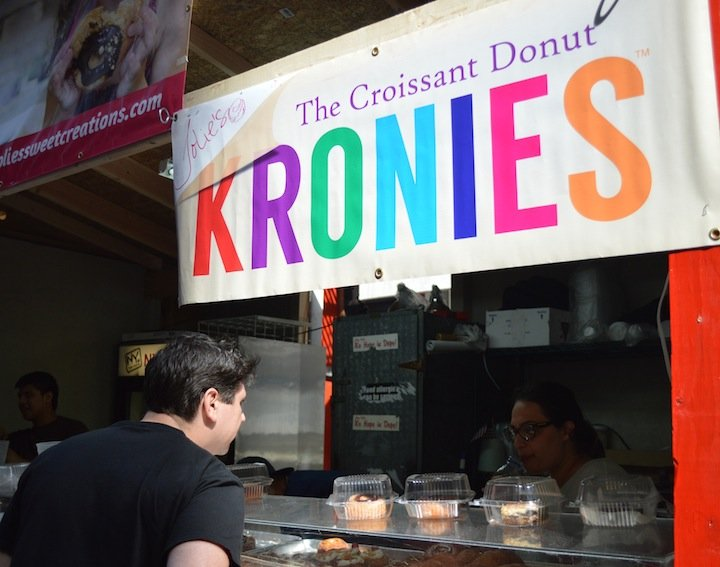 parm, nyc food, nyc restaurants, pop up shop, bagels, bagel pop up, san gennaro festival, kronies, croissant doughnut