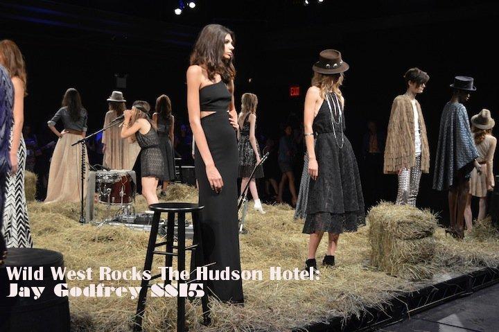jay godfrey, jay godfrey SS15, SS15 fashion shows, NYFW, NYFW 2015, NYC, fringe, western fashion, capes,