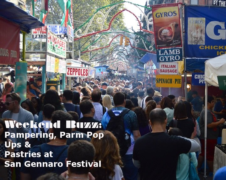 san gennaro, san gennaro feast, san gennaro festival, parm nyc, sadelles pop up, nyc, nyc food, festival foods, blue mercury spa, beauty, facials, essie, essie fall 2014