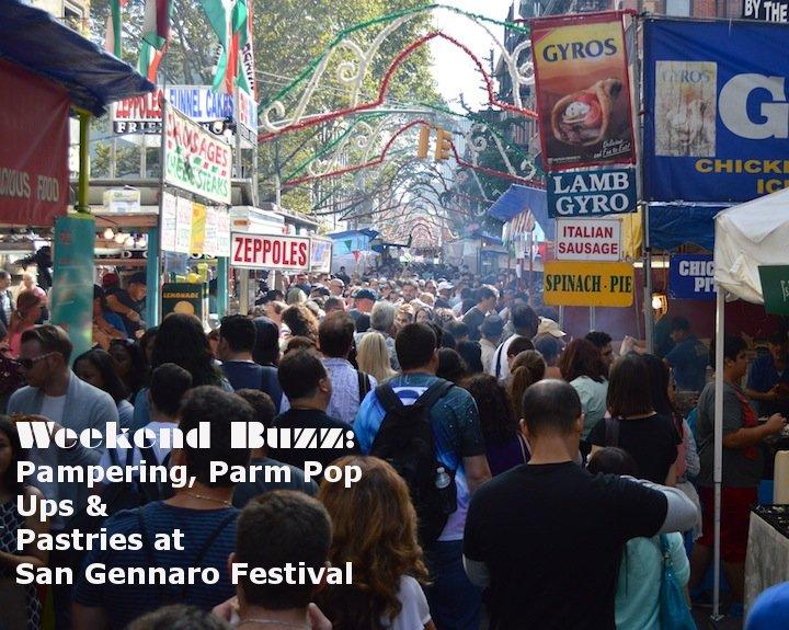san gennaro, san gennaro feast, san gennaro festival, parm nyc, sadelles pop up, nyc, nyc food, festival foods, blue mercury spa, beauty, facials, essie, essie fall 2014