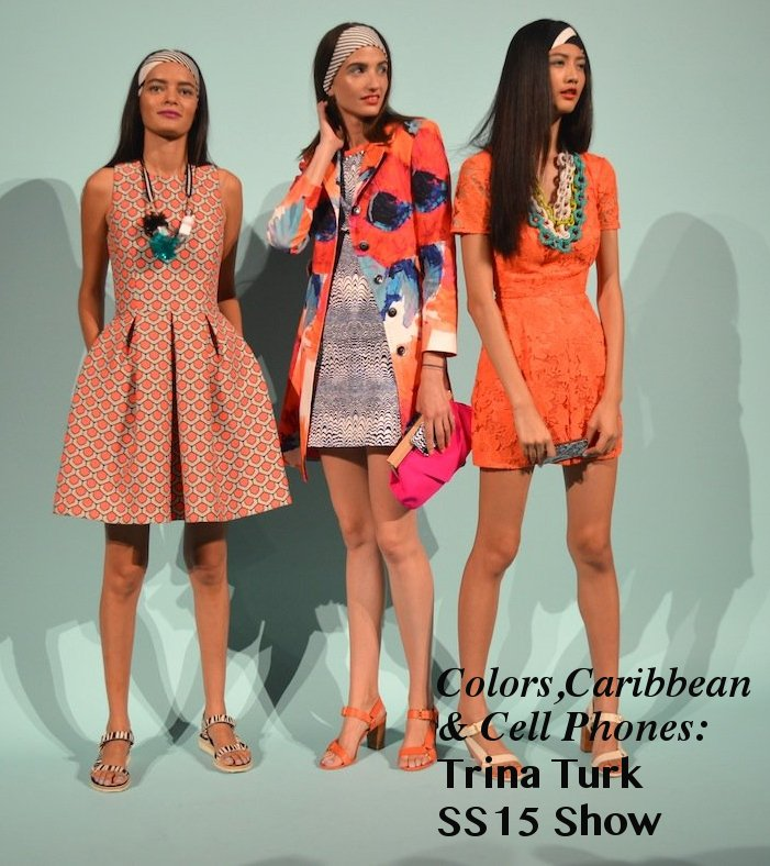 trina turk SS15, trina turk, trina turk fashion show, nyfw, mercedes benz fashion week, nyc, spring 2015, spring fashion
