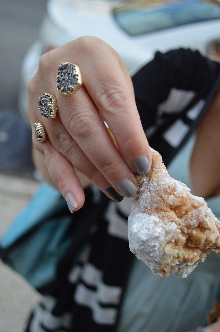 parm, nyc food, nyc restaurants, pop up shop, bagels, bagel pop up, san gennaro festival, essie fall collection, essie nails