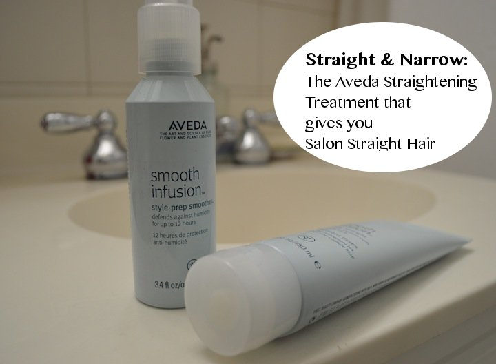 Straight narrow the aveda straightening treatment that gives you salon straight hair style - Salon straightening treatments ...