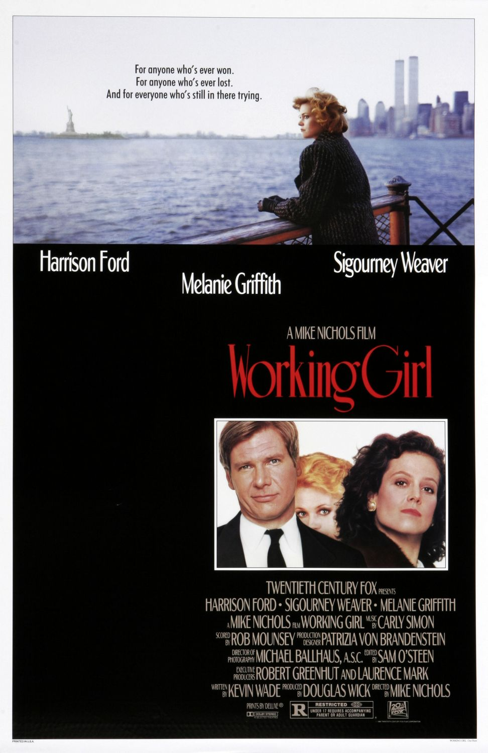 mike nichols, mike nichols movies, working girl, classic movies