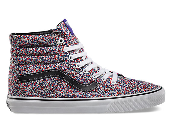 fashion collaborations, collaborations, collaborations spring 2015, sneakers, liberty and vans, liberty of london, spring 15 trends
