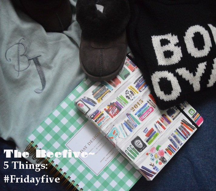 friday five, day designer, madewell, sweaters, pottery barn, wrap blanket, monogrammed blanket, ugg slippers, george bush,
