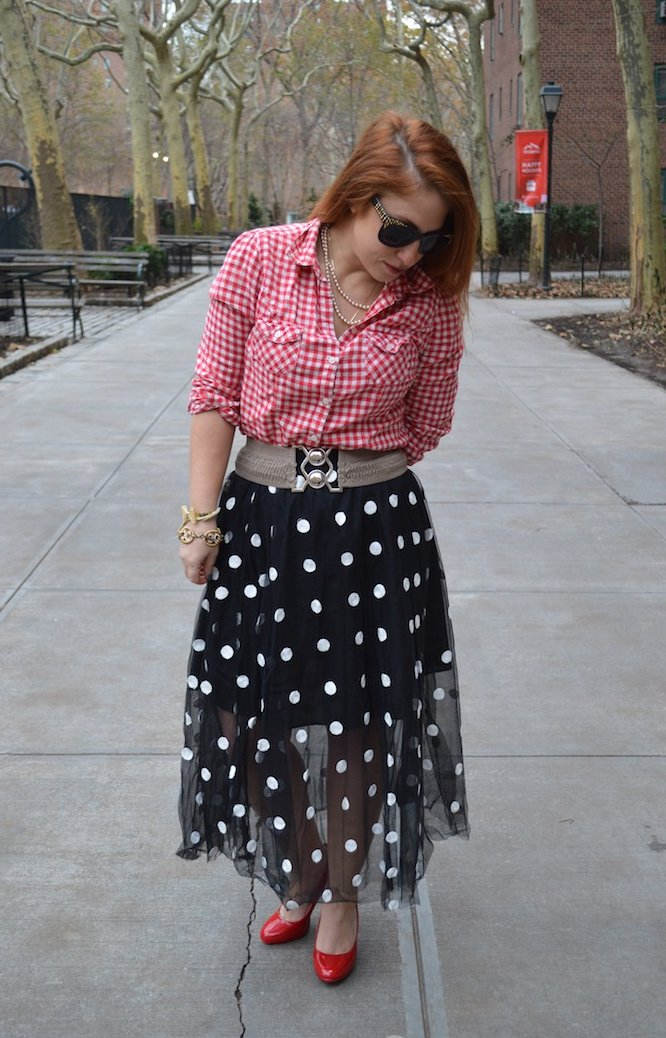 new year, 2015 style, dots, polka dots, winter fashion, style, polka dot skirt, choies, gingham,