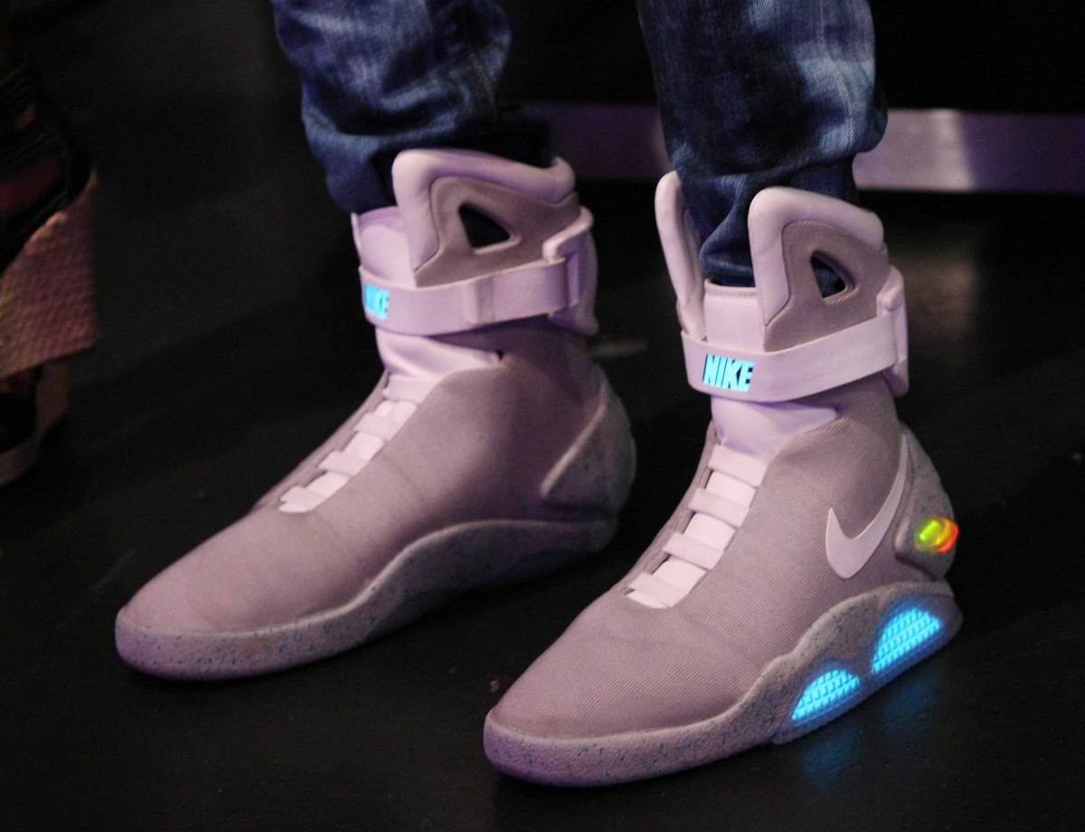 nike back to the future sneakers, back to the future sneakers, spring collaborations