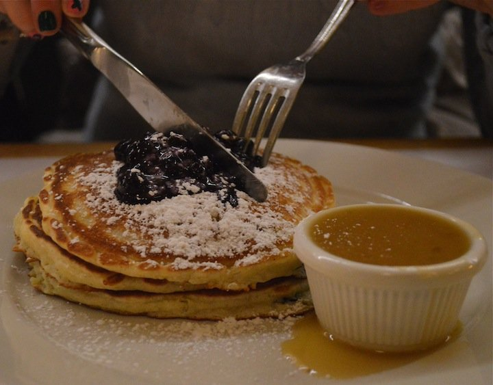 pancake month, national pancake day, bluberry pancakes, clinton st baking co, nyc, nyc restaurants, best pancakes in nyc