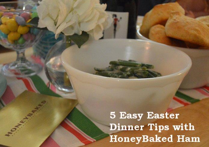 easter, easter dinner, easter dinner tips, honeybaked ham,