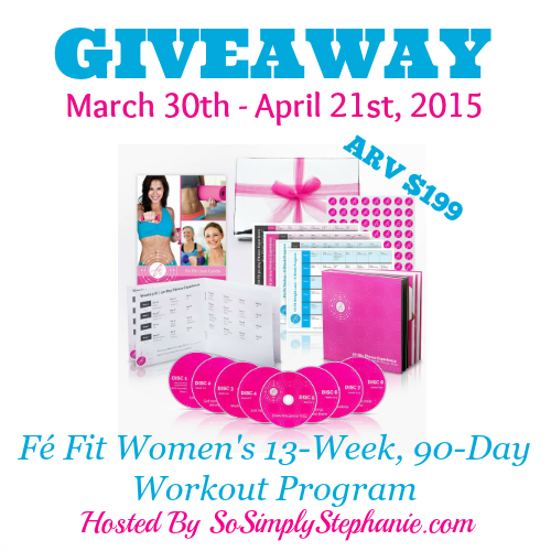 giveaways, fitness giveaway, 90 day workout program