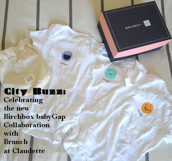 birchbox, baby gap, subscription boxes, brunch, claudette, nyc, brunch nyc, baby, new mom, babies, new babies, baby products