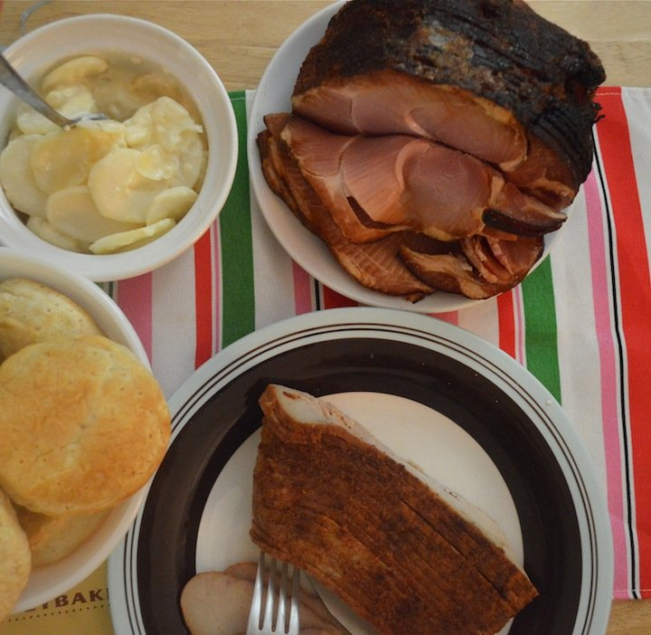 easter, easter dinner, easter dinner tips, honeybaked ham,