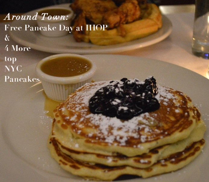 free pancake day, free pancake day at ihop, pancakes, best pancakes nyc, sarabeths nyc, lemon ricotta pancakes, ihop