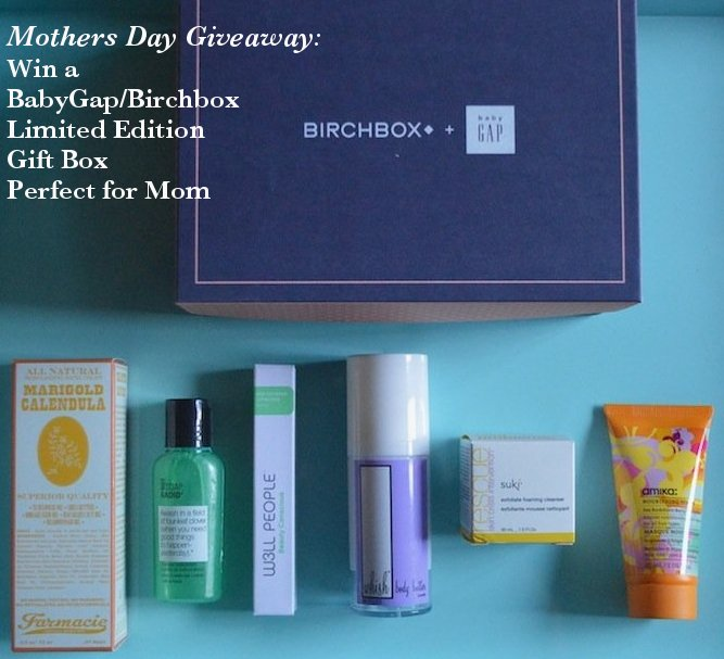 birchbox, baby gap, gap kids, babygap and birchbox collaboration, mothers day, mothers day gifts, new mom, new mom gifts, new baby, gift sets, giveaway, mothers day giveaways