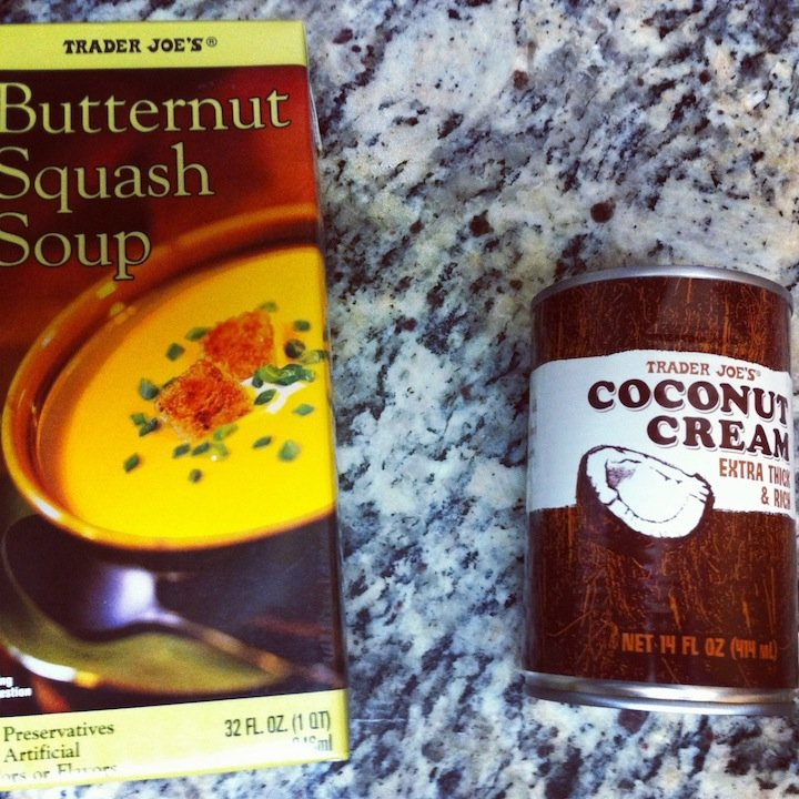 butternut squash, butternut squash soup, trader joes, trader joes butternut squash soup, spring soups, food, recipes, easy dinners