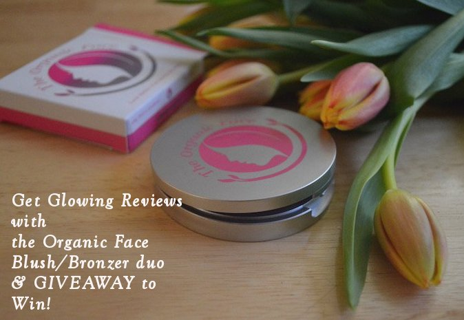 the organic face, bronzers, organic makeup, makeup, blush/bronzer duos, beauty, beauty blogger, makeup reviews, giveaway