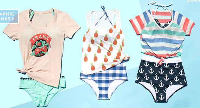 modcloth.com, modcloth, stylish swimwear, swimwear, bathing suits, bikini, love your body, retro swimwear