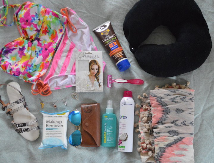 vacation, florida, florida vacation, travel, travel essentials, toiletries, beauty, beauty products, hair products